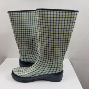 Sperry Womens Top Siders Rain Boots Size 10